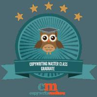 Copywriting Masterclass badge